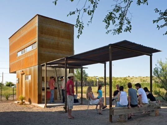 Marfa 10x10, Candid Rogers Architect, marfa, tiny house, micro house, small space living,