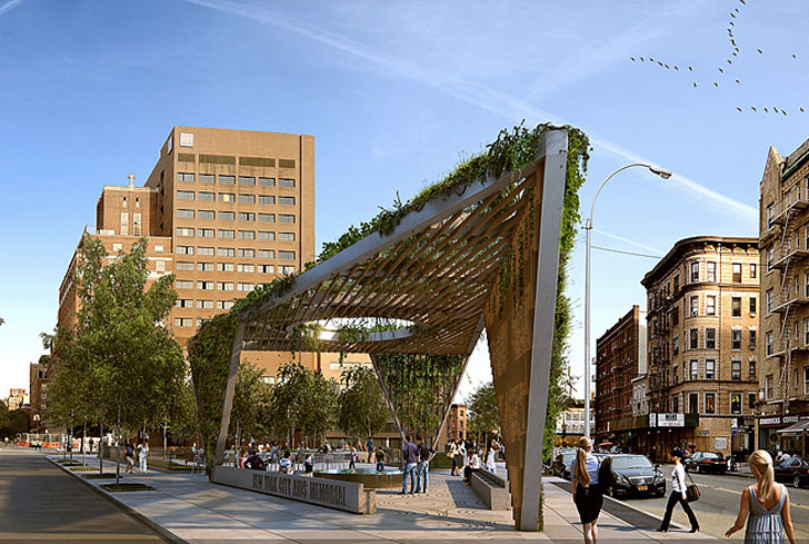 studio a i reimagines aids memorial park design as a fresh green