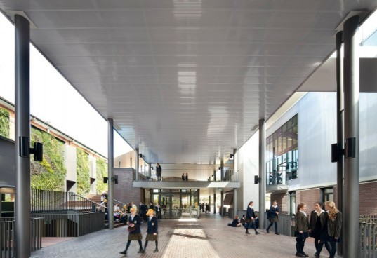 Ravenswood School for Girls, Sydney, BVN Architecture, daylighting, double skinned facade, high performance facade, eco school