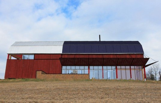 Re-barn, Autotroph, Tobacco Barns, adaptive re-use, solar power, green design, sustainable design, eco-design, Maryland, photovoltaic panels, green renovation, sustainable development