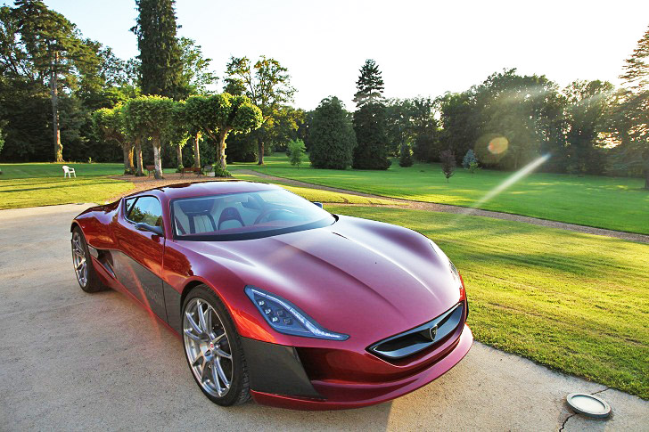 Rimac Automobili S 1 088 Horse Concept One Electric Supercar To Debut This Fall