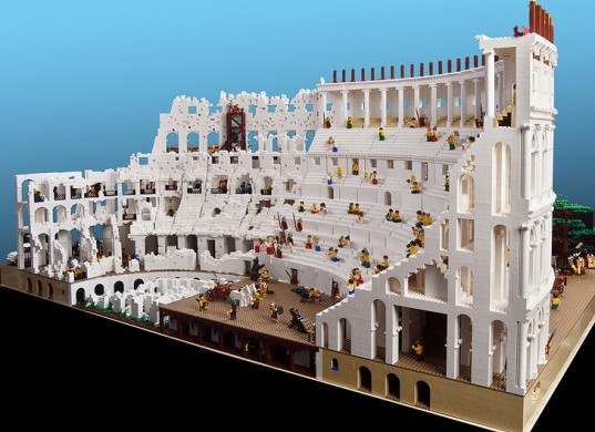 green design, eco design, sustainable design, LEGO, Lego colosseum, Ryan McNaught, The Brick Man