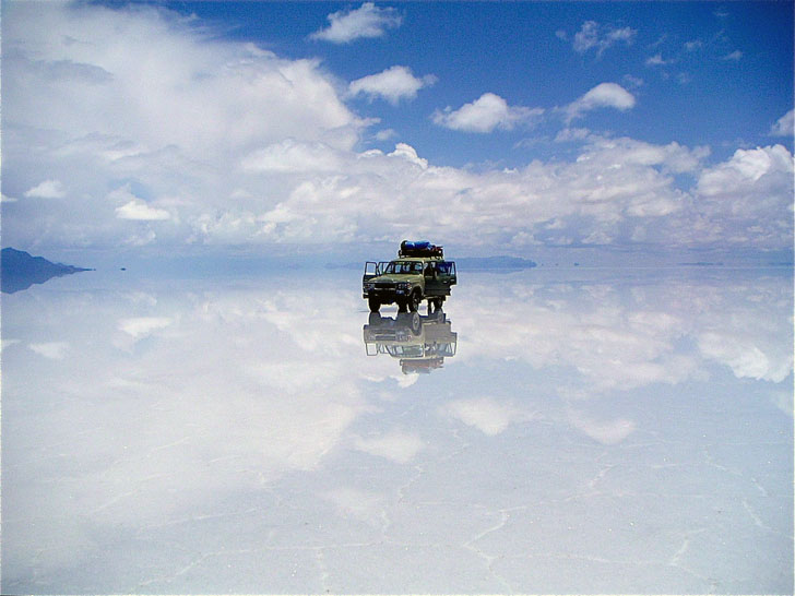 Image result for road through salar de uyuni bolivia pic