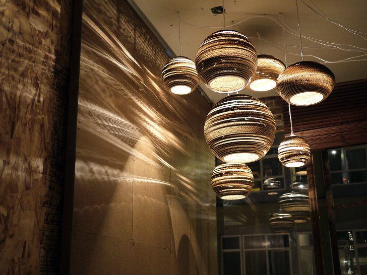 Grey Pants Lampen : Greypants new recycled cardboard scraplights are now available at