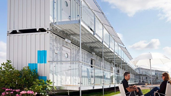 Portable Snoozebox Shipping Container Hotel Can Be Set Up In Just 48