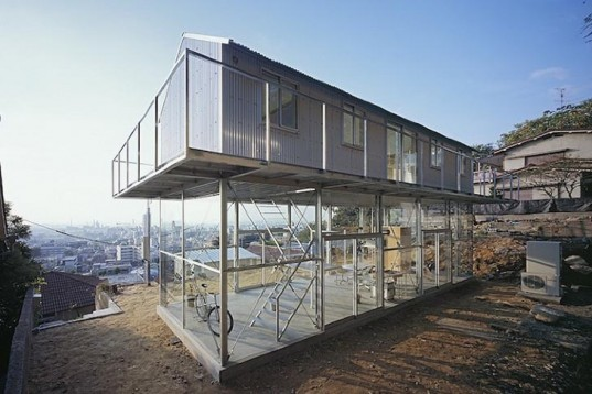 Tato Architects, House in Rokko, japan, hill, naturally ventilation, natural light, Architecture, Daylighting, energy efficiency