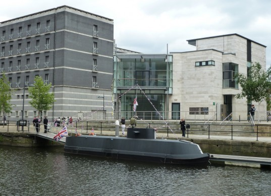 U-8047, u-boat narrow boat, u-boat canal boat, captain richard williams, homemade u-boat, u-boat for sale,