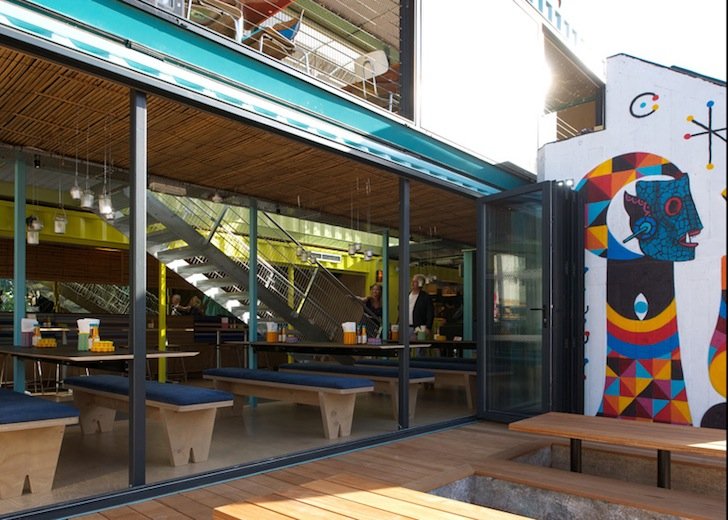 Wahaca shipping container by softroom inhabitat green design innovation architecture - Wahaca shipping container restaurant ...