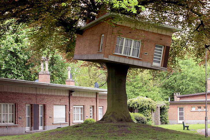 Benjamin Verdoncks Turned Tree House Springs Up in Belgium
