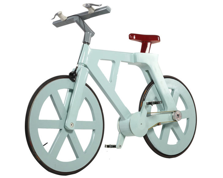 Super Strong, Lightweight Cardboard Bicycle Costs Just $10 to Make ...