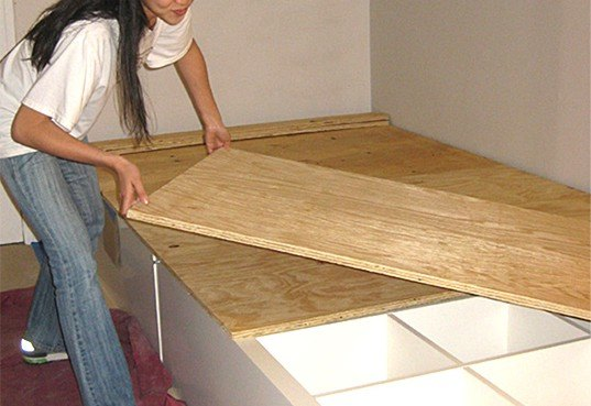 How To Make Your Own Diy Storage Bed Inhabitat Green
