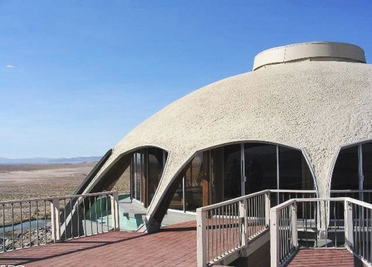 huell howser, the volcano house, volcano house california, volcano house newberry springs, desert homes, natural architecture, california architecture, house on top of a volcano, volcano architecture, volcano homes