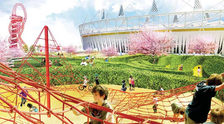 James Corner To Redesign 55 Acre South Plaza Of London S