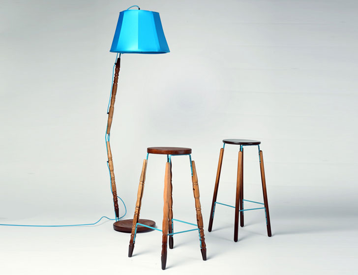 The Third Generation Furniture Project Recycles Unwanted Materials