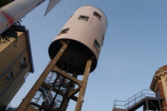 London, Water Tower House, Tom Dixon, converted water tower, water tower home, watertower house