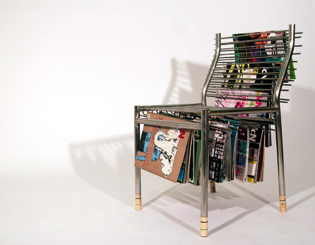 multi furniture. seung han leeu0027s magazine rack chair saves space in small apartments multi furniture e