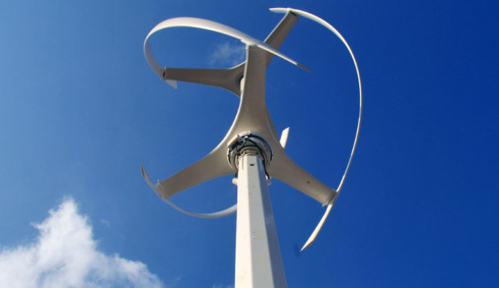 Seven Vertical Axis Wind Turbines Added To London S 2012
