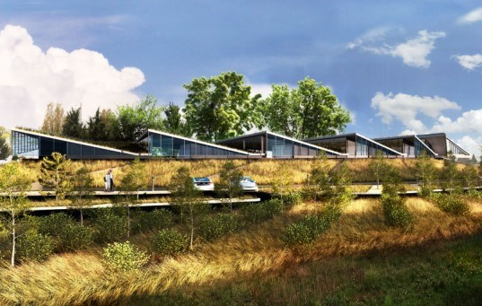 skylab architecture, water treatment, water treatment plant, portland skylab, LEED Gold skylab, LEED Gold water treatment portland,