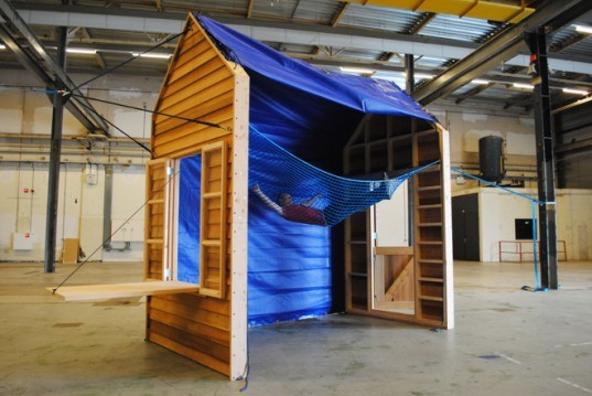 Joscha Weiand, hangout, dutch design week, sustainable design, temporary shelter, green design, adaptable structure, eco design