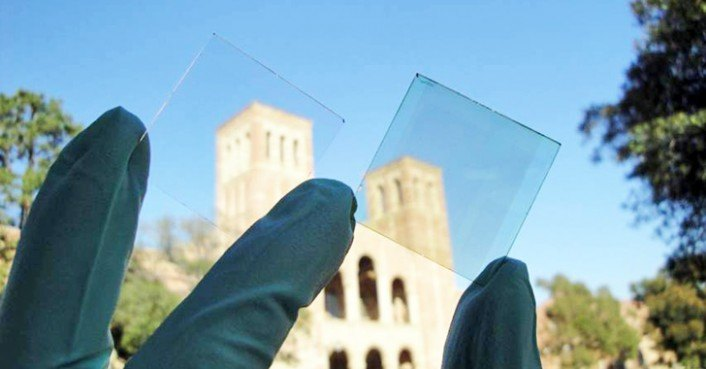 UCLA Develops Electricity-Generating, Transparent Solar Cell