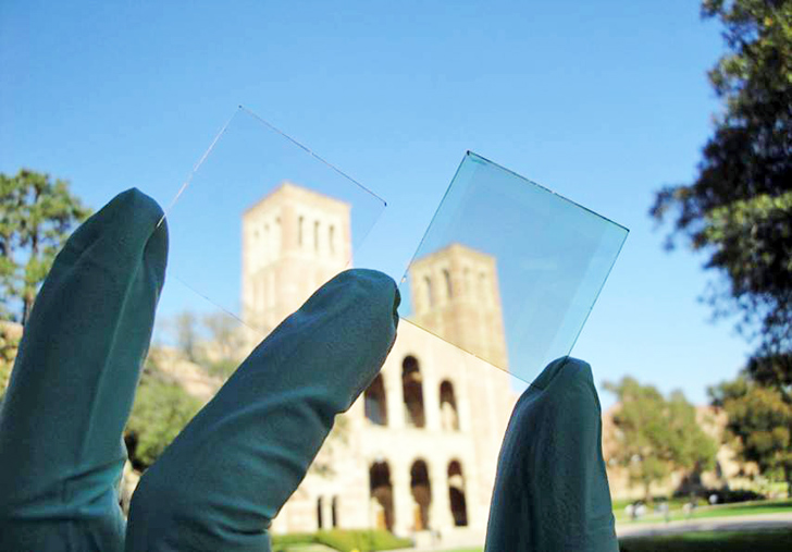 UCLA Develops Electricity-Generating, Transparent Solar Cell Windows