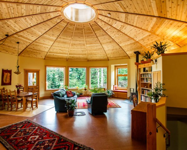yurts, sustainable yurts, build your own green home, green homes, diy yurt, how to build a yurt, mandala homes, eco homes, low energy homes, round homes, energy star homes, eco yurts, building green, green design, eco architecture, rachel ross, Magnolia 2300