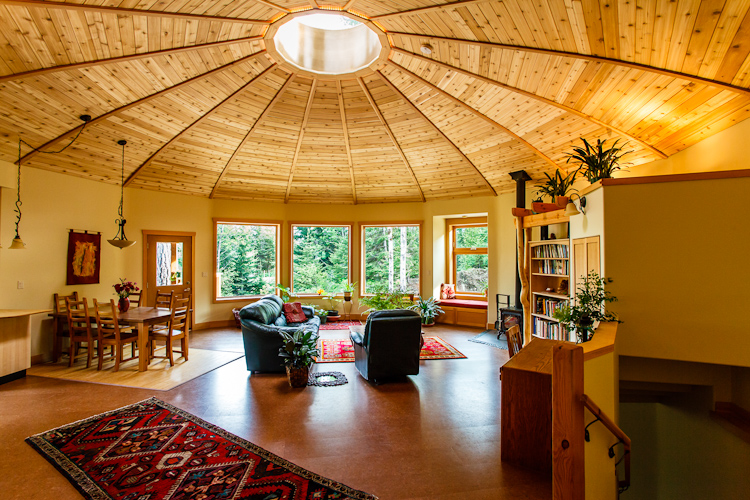 A Firsthand Look At The Magnolia Yurt The First Energy Star