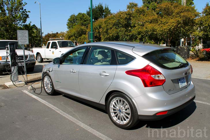 test drive we drive the 2013 focus electric in san francisco. Black Bedroom Furniture Sets. Home Design Ideas