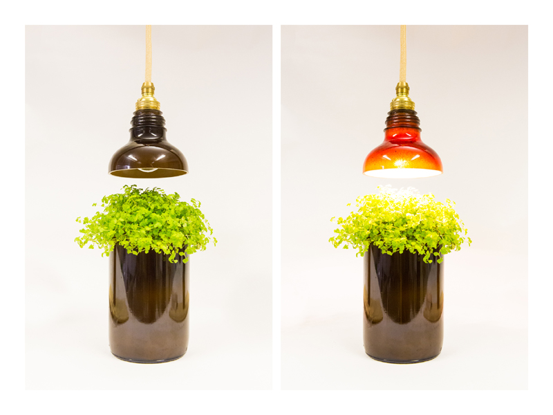 Utrem Lux Is A Series Of Stunning Glass Lamps Made From Recycled Bottles Inhabitat Green