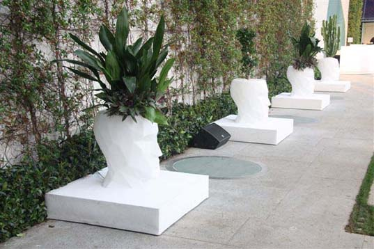 Adán Collection Teresa Sapey, Vandom, lighting design, green furniture, outdoor planters, recyclable planters