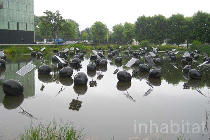 Floating Solar Panels Installation At Eindhoven Designed