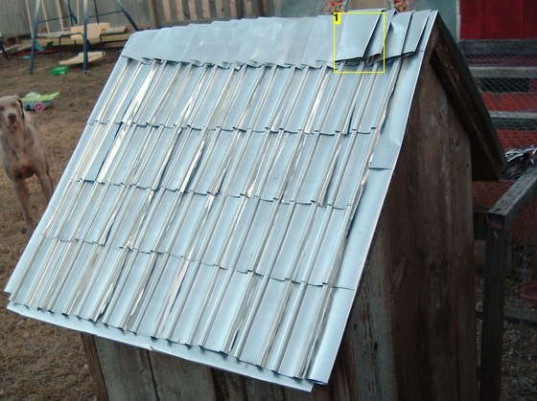 Diy How To Recycle Aluminum Soda And Beer Cans Into Roof