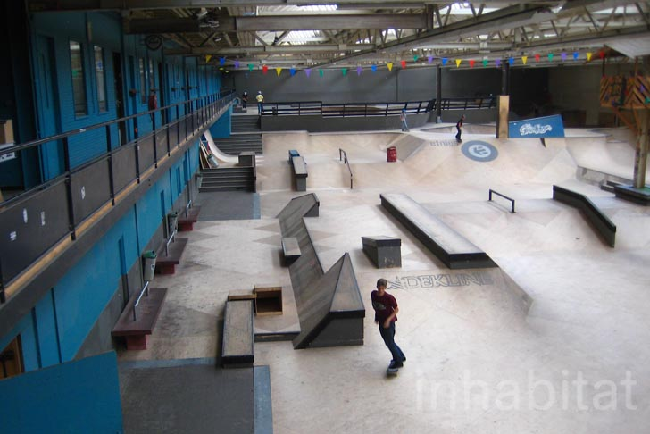 Areafiftyone Skate Park In Eindhoven S Old Phillips