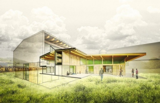 Hutchison & Maul Architecture, National Endowment of the Arts, Washington State, Artisan Barn, recycled materials, salvaged materials, Palouse, barn, barn renovations, green design, sustainable design, eco design