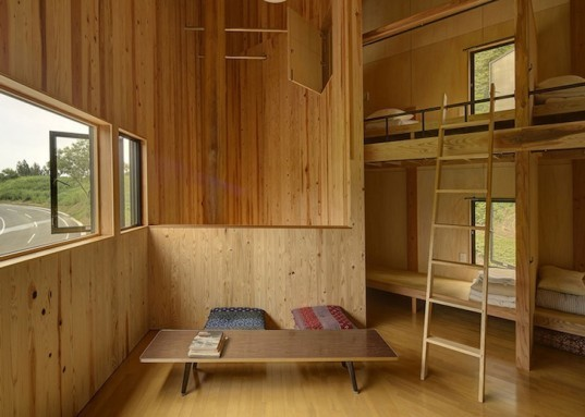 Andrew Burns, earthquake, Japan, art, Echigo-Tsumari Triennale, green design, timber, sustainable design, eco-design, disaster relief