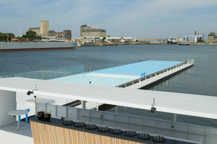 Badboot: The World's Largest Floating Swimming Pool Opens ...