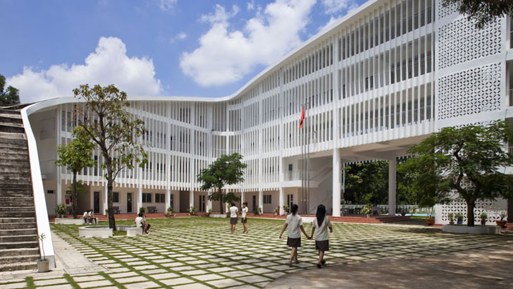 Vo Trong Nghiau0027s Binh Duong School Is A Swerving Learning Center Inside A  Forest