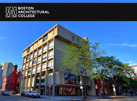 Boston Architectural College, Sustainable Design program, sustainable design degree, Master's degree, Bachelor's degree, Boston, Massachusetts, certificate program, online courses