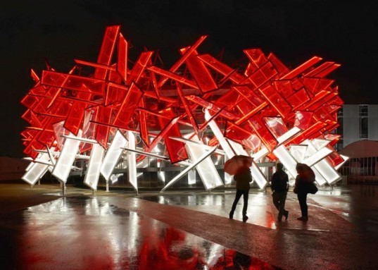 Coca Cola, Beatbox Pavilion, Asif Khan, Pernilla Ohrstedt, Mark Ronson, Anywhere In The World, Olympic Games, London 2012, 2012 Olympics, London, musical structure