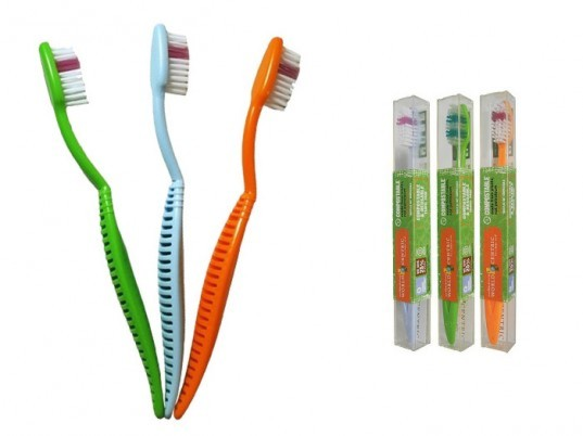 Compostable technology, compostable toothbrush, biocompostable products, compostable beauty products, recycleable beauty, recycleable toothbrush