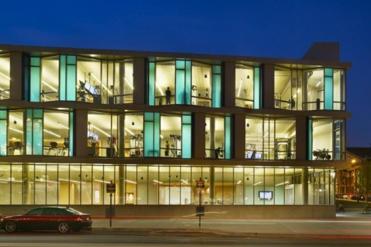 Drexel University, Daskalakis Athletic Center, Sasaki Associates, athletic center, daylighting, high performance facade