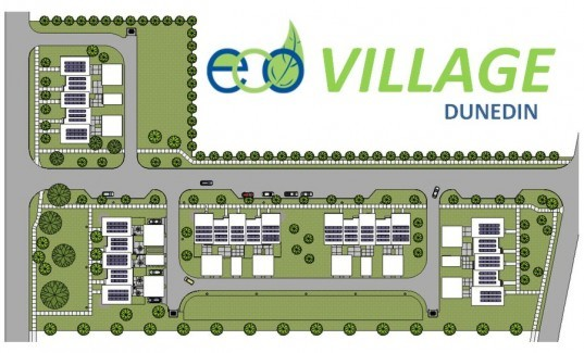 green building, sustainable building, eco village, LEED, green housing, Dunedin, LEED Certified Net Zero Energy townhome, The Eco Village, Planet Green Group, Eco Construction, GE, Algatec Solar, MESH Architecture, Pinellas County, the Housing Finance Authority of Pinellas County, the City of Dunedin