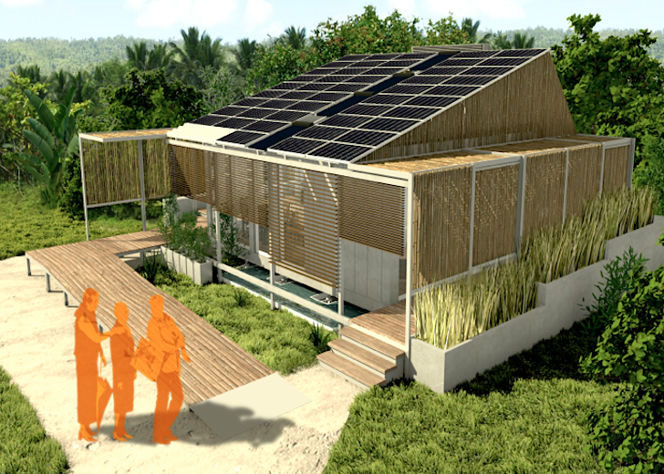 Solar Powered Brazilian Ek 243 House Is A Modular Smart Home
