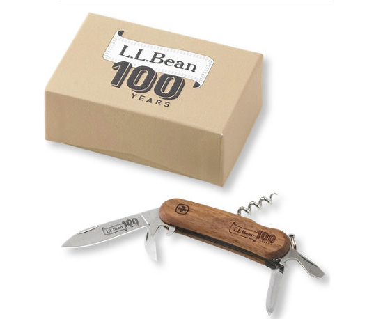 L L Bean Releases Limited Edition Swiss Army Knife Made