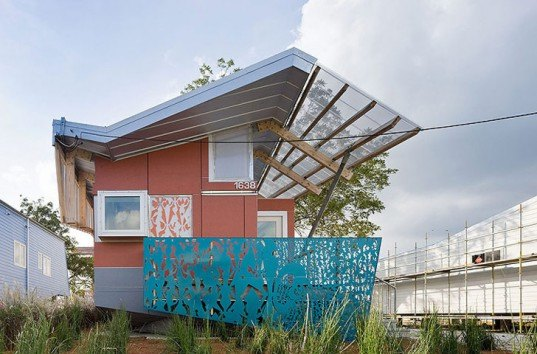 FLOAT House, Morphosis, New Orleans, Make-It-Right, Hurricane Katrina, Housing, Affordable, Sustainable