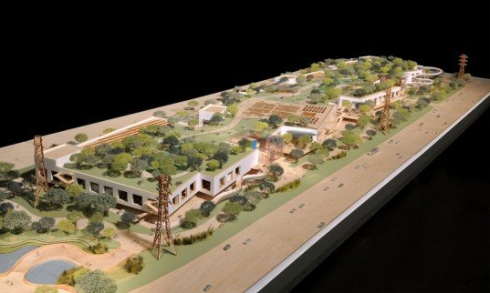 Facebook, Mark Zuckerberg, New Campus, menlo Park, green roof, architecture, Frank Gehry