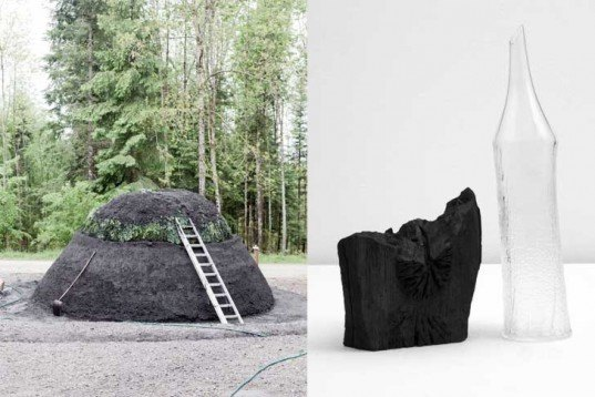 Formafantasma, Confrontations, Weil Am Rhein, Vitra Design Museum, Massimo Lunardon, Doris Wicki, Luisa Zanzani, Francesco Zorzi, charcoal, deforestation, CO2 emissions, Design Academy of Eindhoven, Green Products, Water Issues