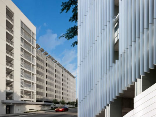 Green Square Parking Deck Is A Solar Powered Garage To