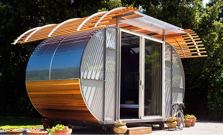 Bellomo Architects' Tiny House Arc Prefab Home Is Now Available