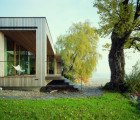 Solar-Powered House Lindau Blends In With Its Lakeside Setting in Germany